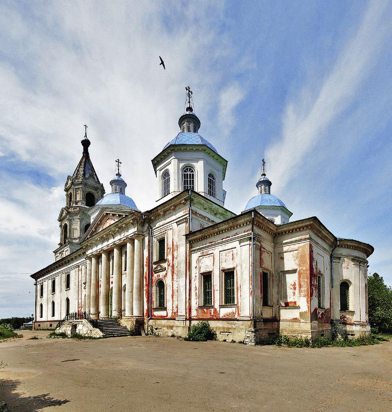 До революции здесь было больше 20 церквей и 3 монастыря. Кашин. Тверская область