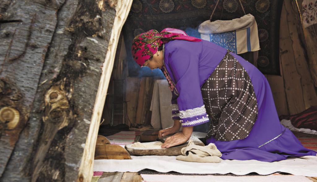 Специальные камни нужны для перемалывания пшена и приготовления талкана. Алтайский край