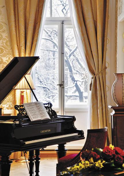 Апартаменты «Паваротти», где знаменитый певец останавливался в 2004 году.. Санкт-Петербург