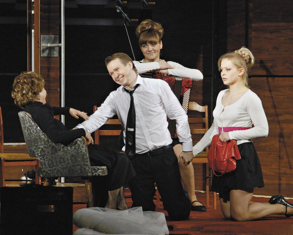 Спектакль «Фигаро. События одного дня» был представлен в Ростове-на-Дону.