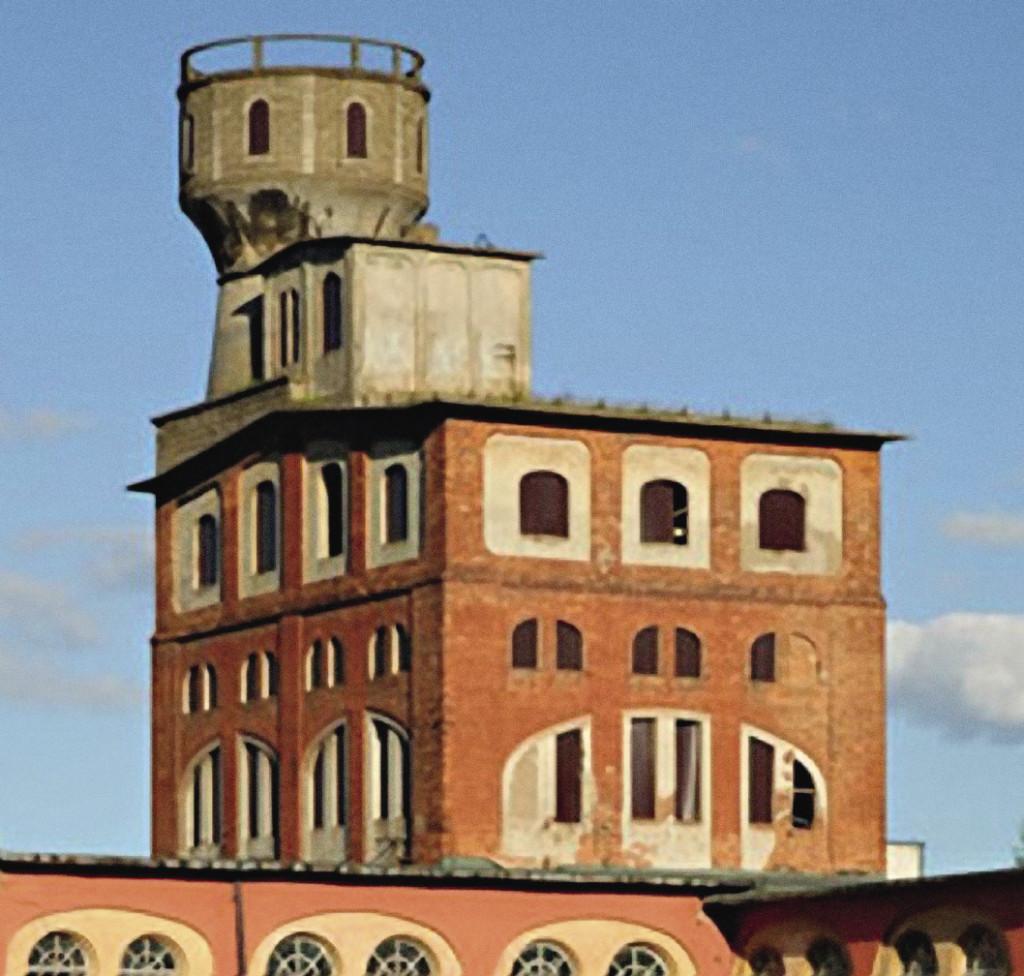 Здание бумажной фабрики, когда-то одной из лучших в России. Кондорово. Калужская область