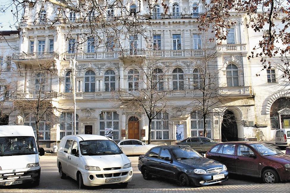 Здание Севастопольского художественного музея выстроено в стиле модерн. Республика Крым