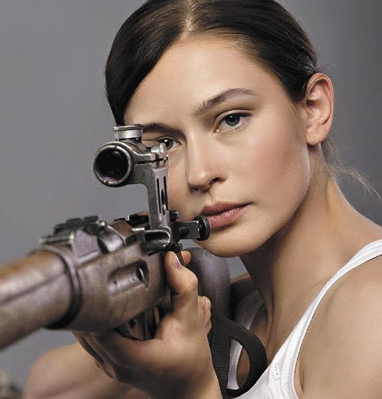 На съемках фильма «Битва за Севастополь» пришлось стать настоящим снайпером.