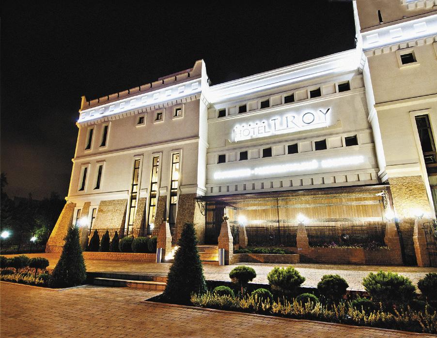 Отель Троя. Краснодарский крайй