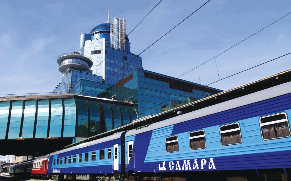 Легенды Самарского края - поезд