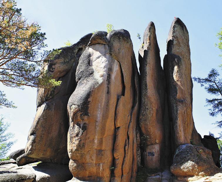 Красноярские столбы – археологический памятник, который обязательно нужно посетить на досуге.