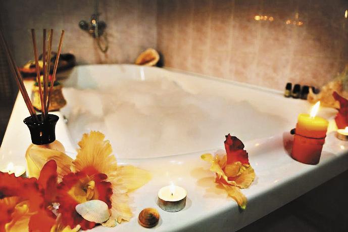Ароматические ванны «Черноморья»: окунувшись в такую ванну, вы избавитесь от стрессов.