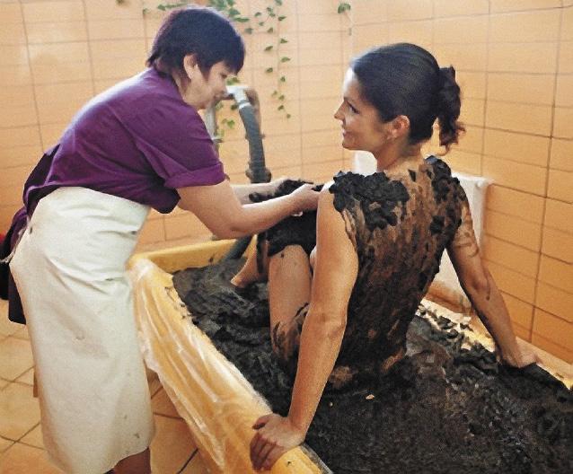 Лечебные торфы борются с болезнями кожи и суставов.
