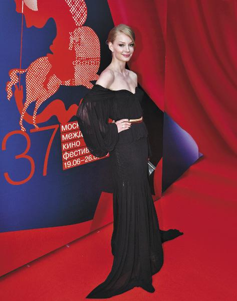 На церемонии открытия 37-го Московского международного кинофестиваля.