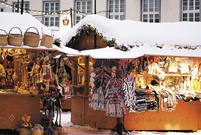 Рождественская ярмарка — лучшее место для покупки сувениров.