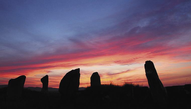 Хакасия. Большой Салбыкский курган – древнейший культовый памятник старины Восточной Сибири.