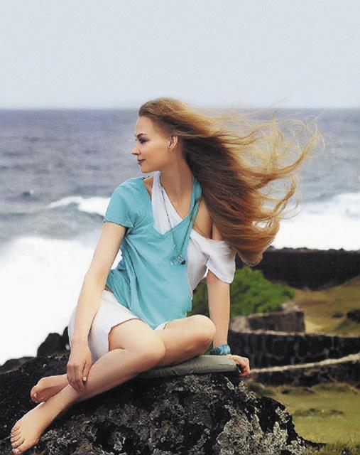 Несмотря на любовь к России, Ходченкова обожает остров Бали.