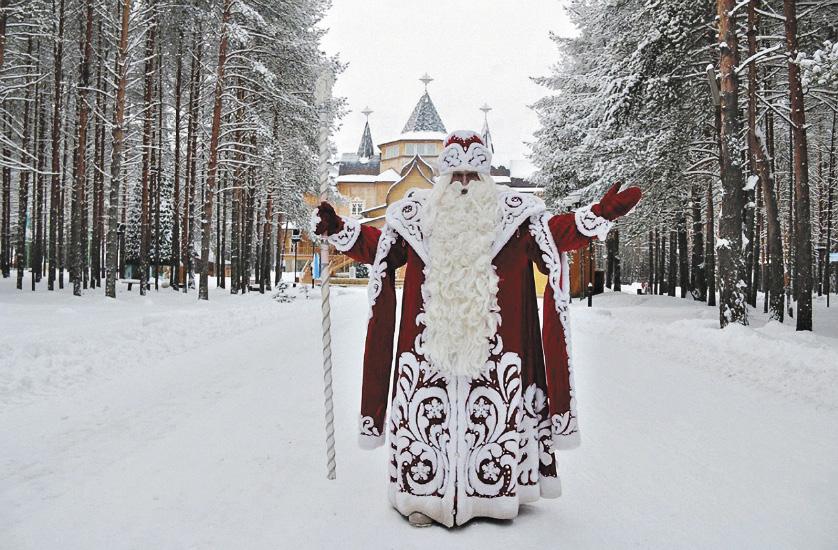 «Ворота Севера»: Дед Мороз приветствует гостей и приглашает посетить свои владения.