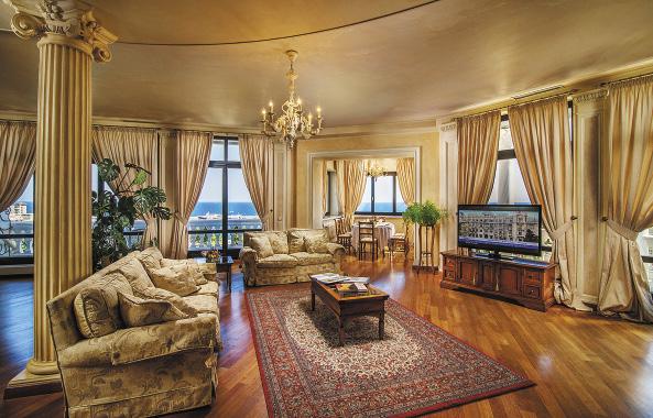 Гостиная. Удивительное сочетание простора и уюта.