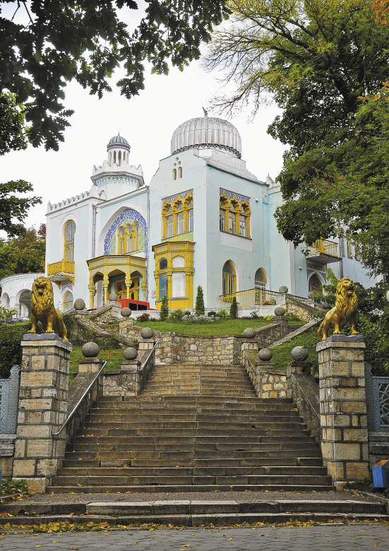 Дворец эмира Бухарского, Железноводск.