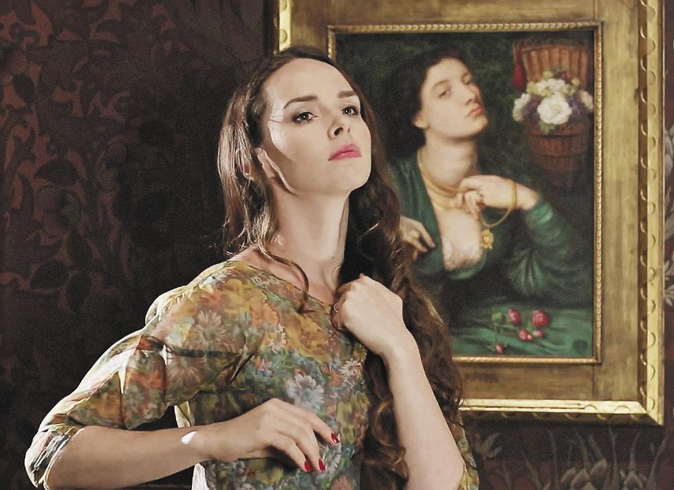 Актриса Елена Николаева – о музах и художниках. Кадр из совместного видеопроекта Пушкинского музея и Британского совета «Искусство быть музой».