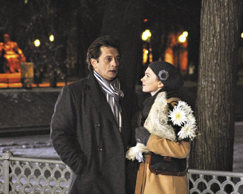 Партнером Елены по фильму «Моя вторая половинка» стал Александр Домогаров.