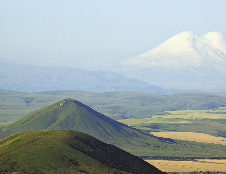 Вид с горы Машук, Пятигорск.