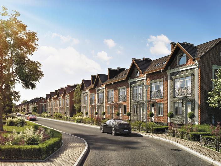 В жилом комплексе «Акваполис» предлагаются четыре вида современного жилья.