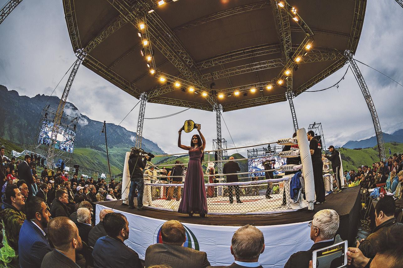 «Битва в горах» – это праздник, который полюбился туристам и болельщикам.