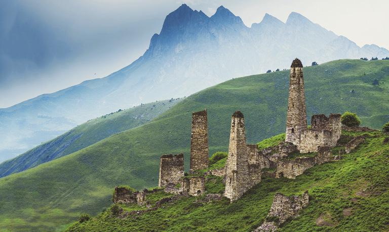 Визитная карточка Ингушетии –  древние башни искусных горских строителей.