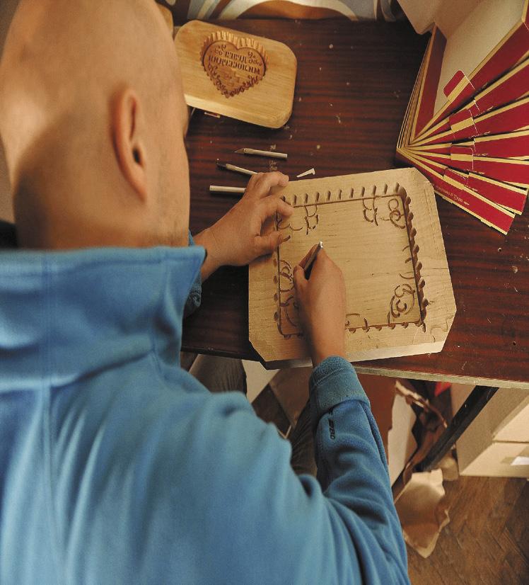 Пряник в деревянной форме – визитная карточка тульских кондитеров.