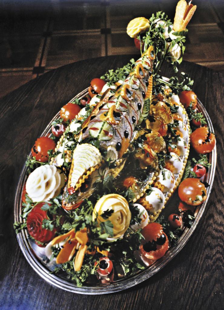 Без рыбы не обходится ни один праздничный стол русского севера.
