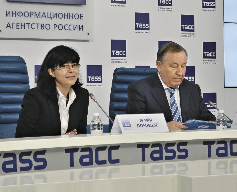 Майя Ломидзе и Александр Карлин презентовали событийный календарь Алтайского края.