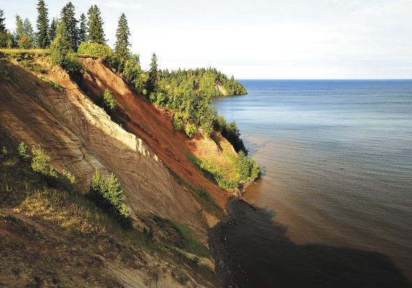 Андомская гора. Вид на Онежское озеро.