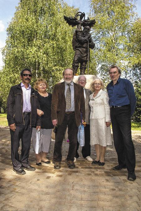 Первый в России памятник Николаю Клюеву открыт!
