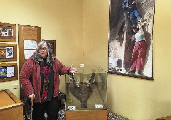 Американка Анна Эвинг Рассиос приехала в Западную Македонию в командировку 40 лет назад, да так и осталась здесь на всю жизнь.