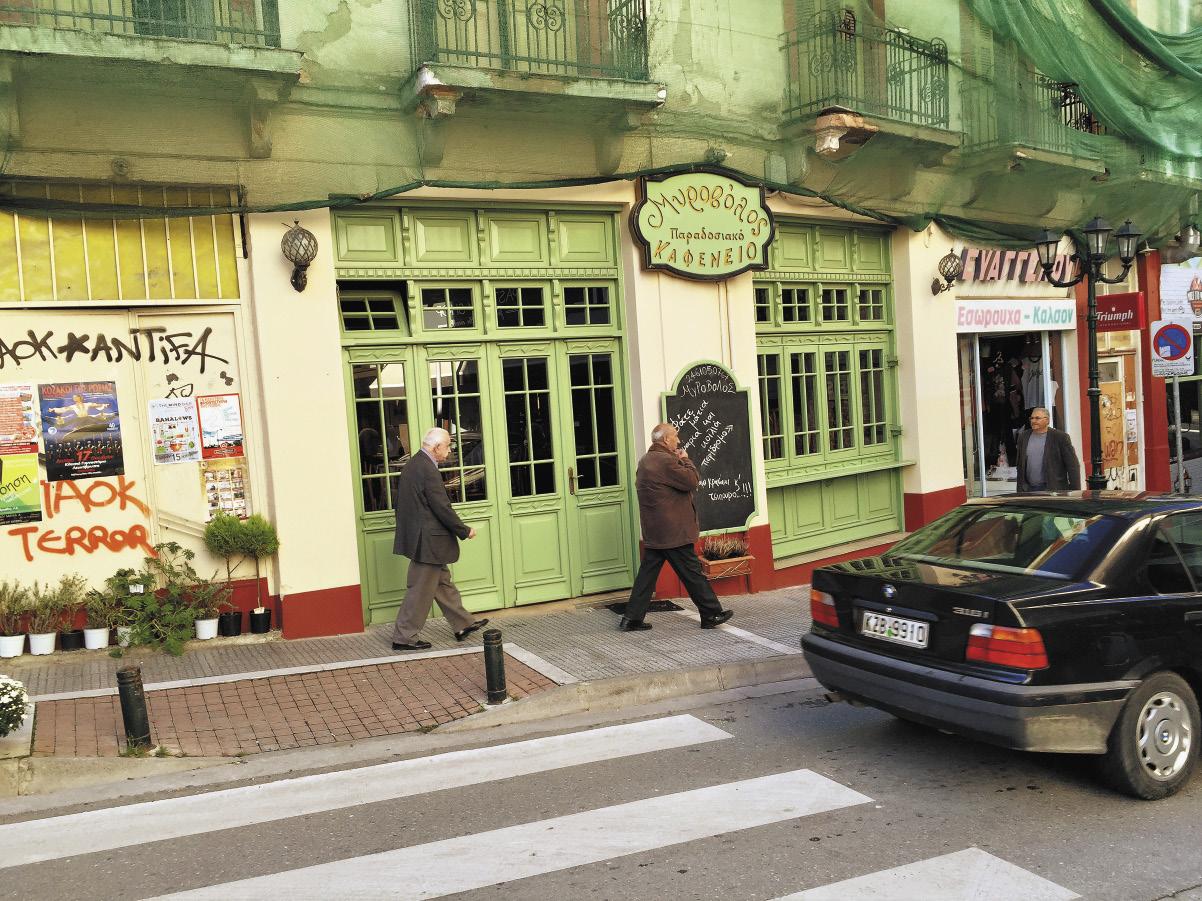 Жители столицы Западной Македонии – городка Козани – ходят по улицам не спешно. Здесь любят при встрече со знакомыми обсудить последние события, после чего зайти в ближайший бар и про- пустить «по бокальчику».