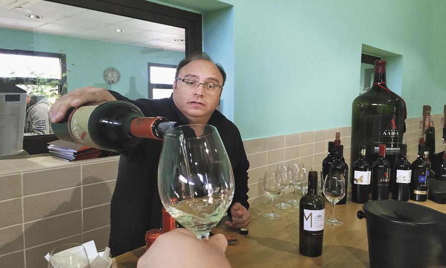 Македонские вина – легкие и качественные.