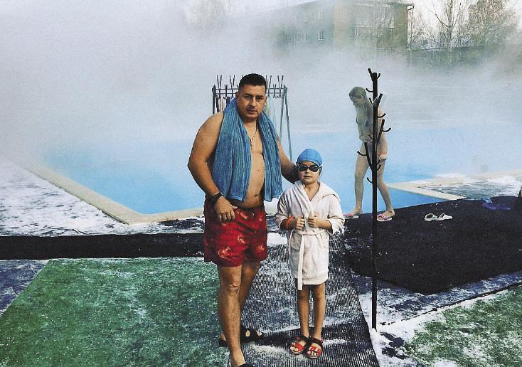 Воткинские термы с открытым горячим термальным бассейном, спа, саунами и банями.