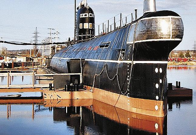 Боевой корабль, ставший музеем.