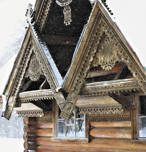 Абрамцево. Баня-теремок (по проекту И.П. Ропета, 1877–1878 гг.)