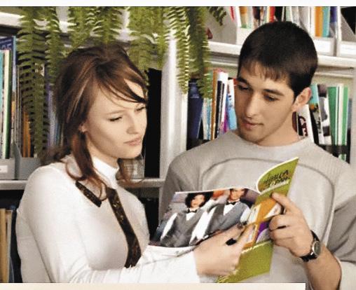 Самостоятельная работа в библиотеке. Ежегодно МГИИТ издает более 50 учебников.