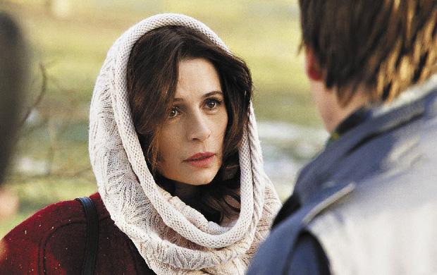 В сериале «Чудотворец» актриса сыграла возлюбленную главного героя, которого сыграл ее муж Филипп Янковский.