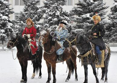 «Мороз-Воевода» и конный дозор.