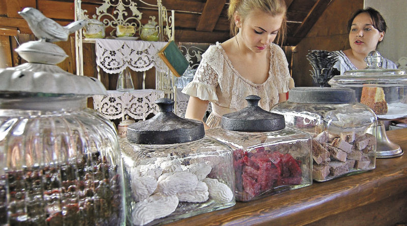 В коломенском Музее пастилы можно попробовать множество разных сладостей.