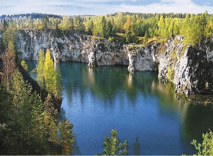 Карельские пейзажи успокаивают нервы и балансируют работу организма.