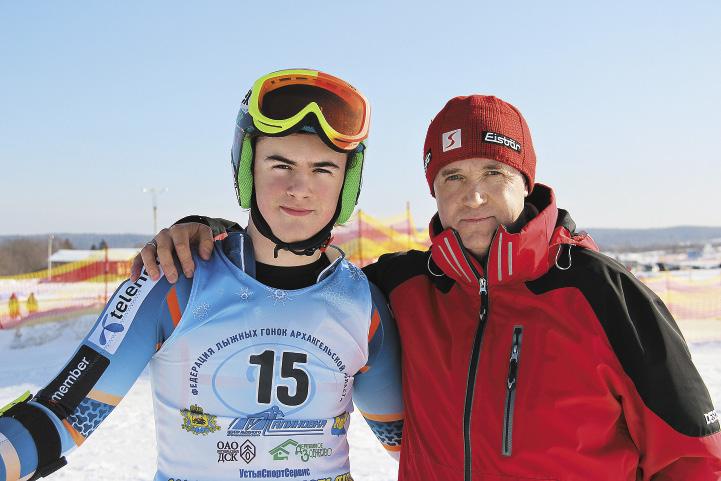 Генеральный директор «Малиновки» Олег Воробьев вместе с сыном Денисом.