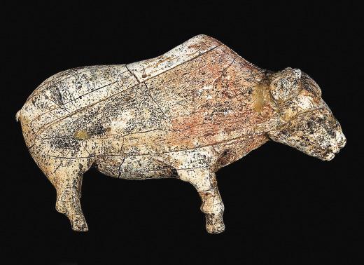 Статуэтка бизона, сделанная из бивня мамонта, поставила Зарайскую стоянку в один ряд с лучшими палеолитическими памятниками.
