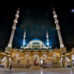 «Сердце Чечни» ночью