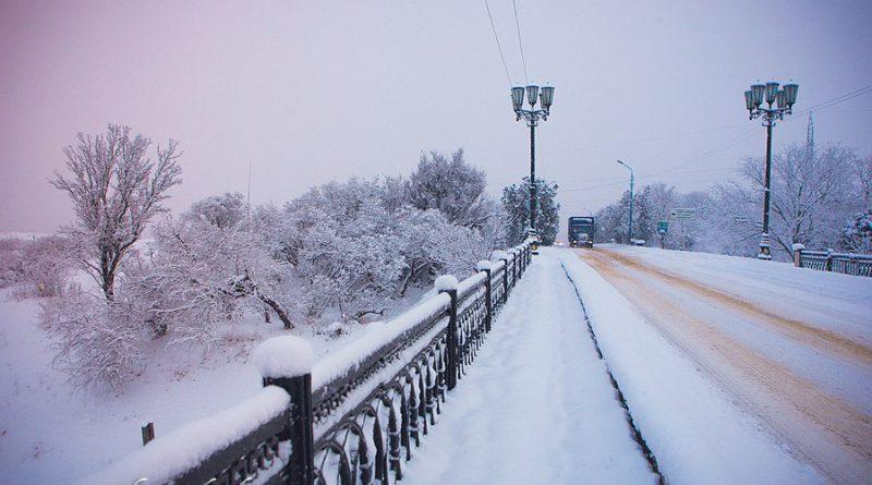 Окрестности зимней Керчи