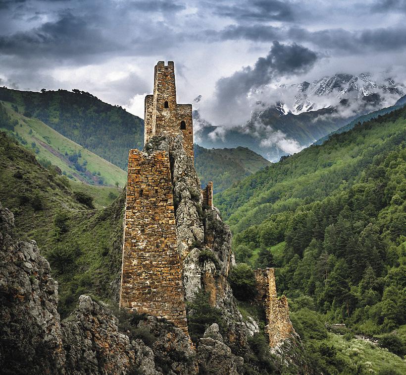 Башни Ингушетии, уникальные свидетели древней истории, объекты восхищения туристов.