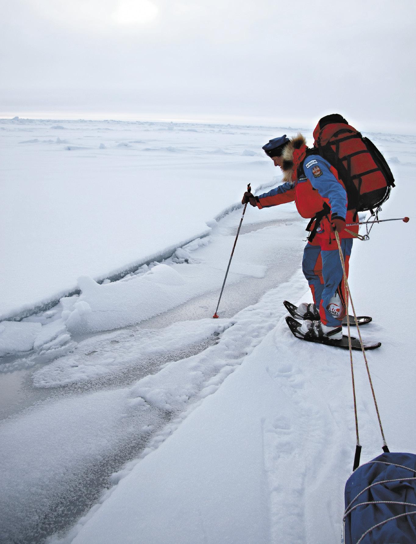Никто еще не смог повторить полярную экспедицию Михаила Малахова и Ричарда Вебера, которые прошли по дрейфующим льдам более 2000 километров!