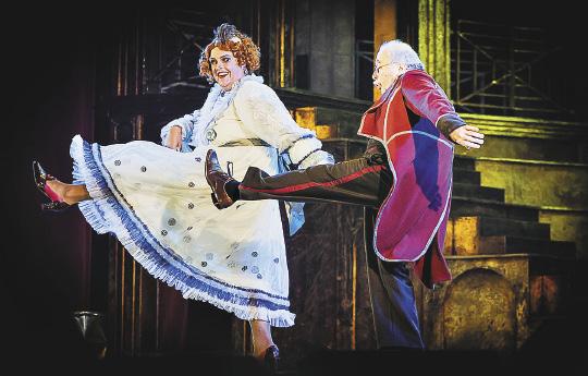 Каждый вечер яркий и незабываемый мюзикл «Принцесса цирка» дарит радость зрителям всех возрастов!