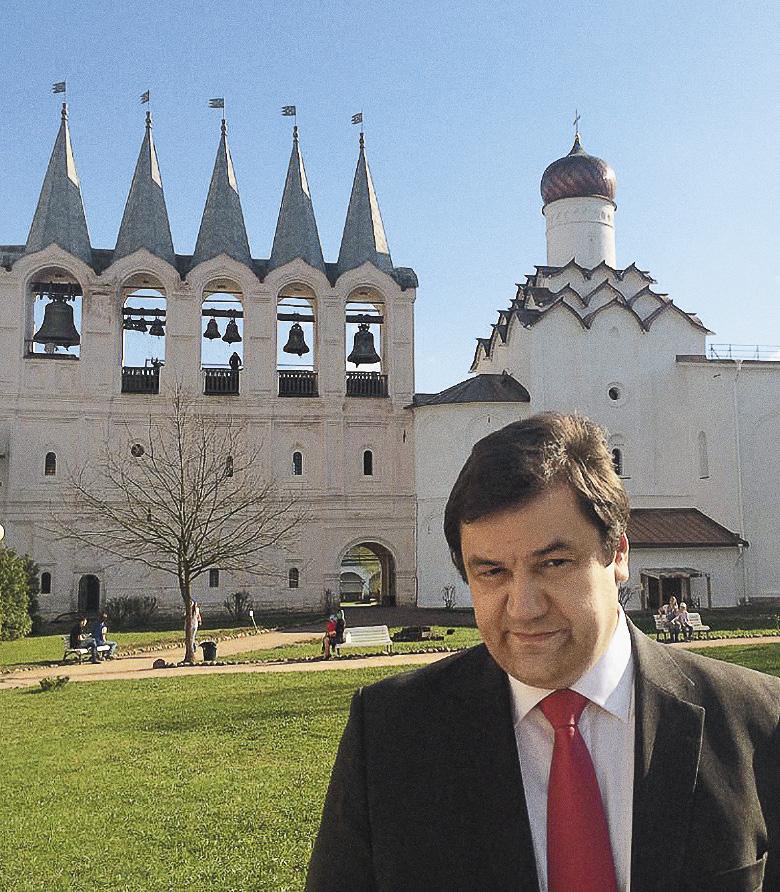 Игорь Фомин в Тихвинском Богородичном Успенском мужском монастыре.