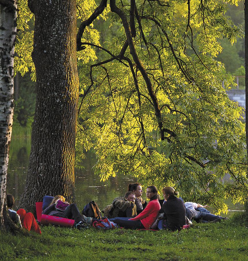 Классические вечера «Ночь музыки в Гатчине» на берегу Белого озера дарят слушателям незабываемые впечатления.
